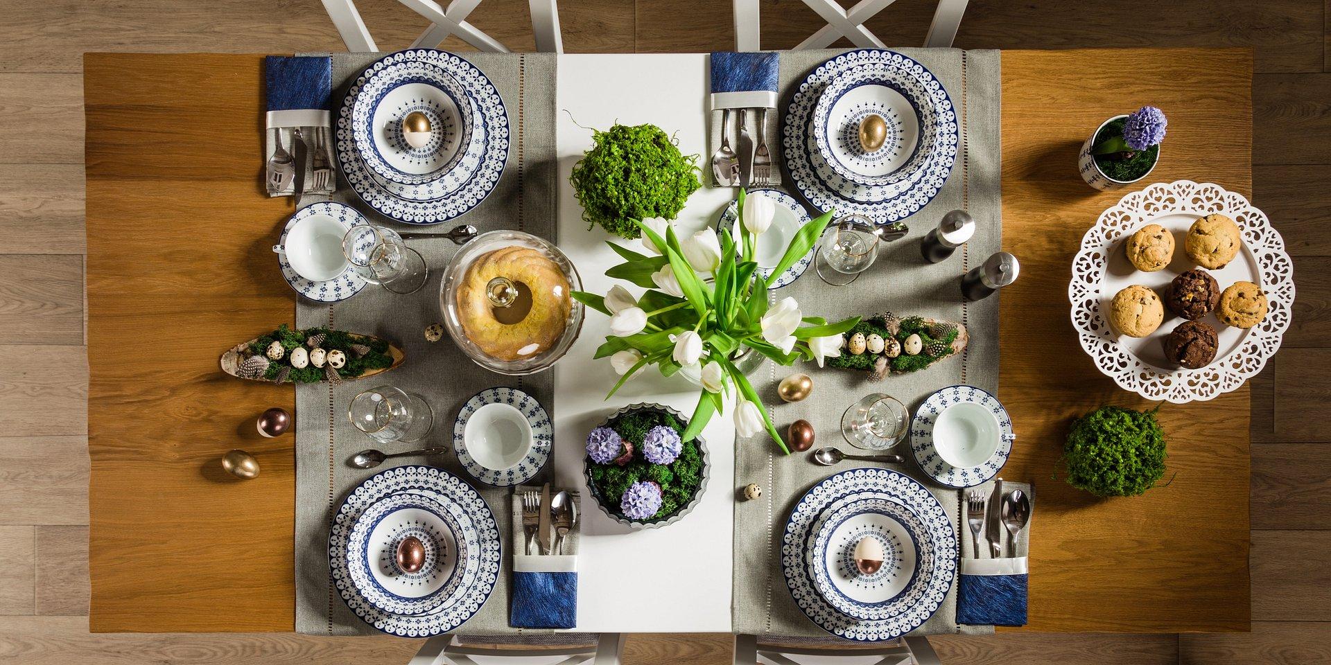 Wielkanocny stół w nowej odsłonie - zainspiruj się!