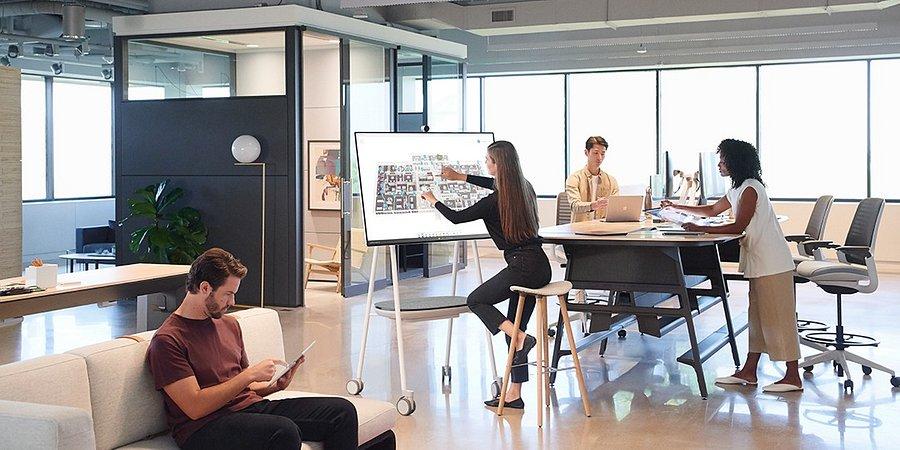 Microsoft Surface Hub 2 quer revolucionar o futuro da colaboração em Portugal