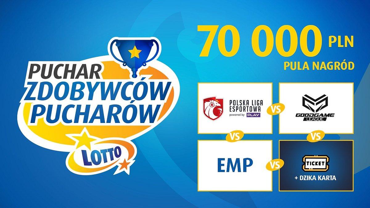 Najlepsze polskie drużyny Counter-Strike: Global Offensive zmierzą się w turnieju LOTTO Puchar Zdobywców Pucharów!