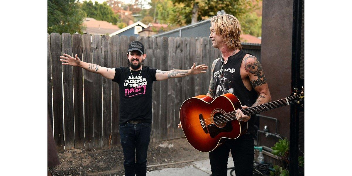 Duff McKagan – basista Guns N' Roses na koncercie w Polsce