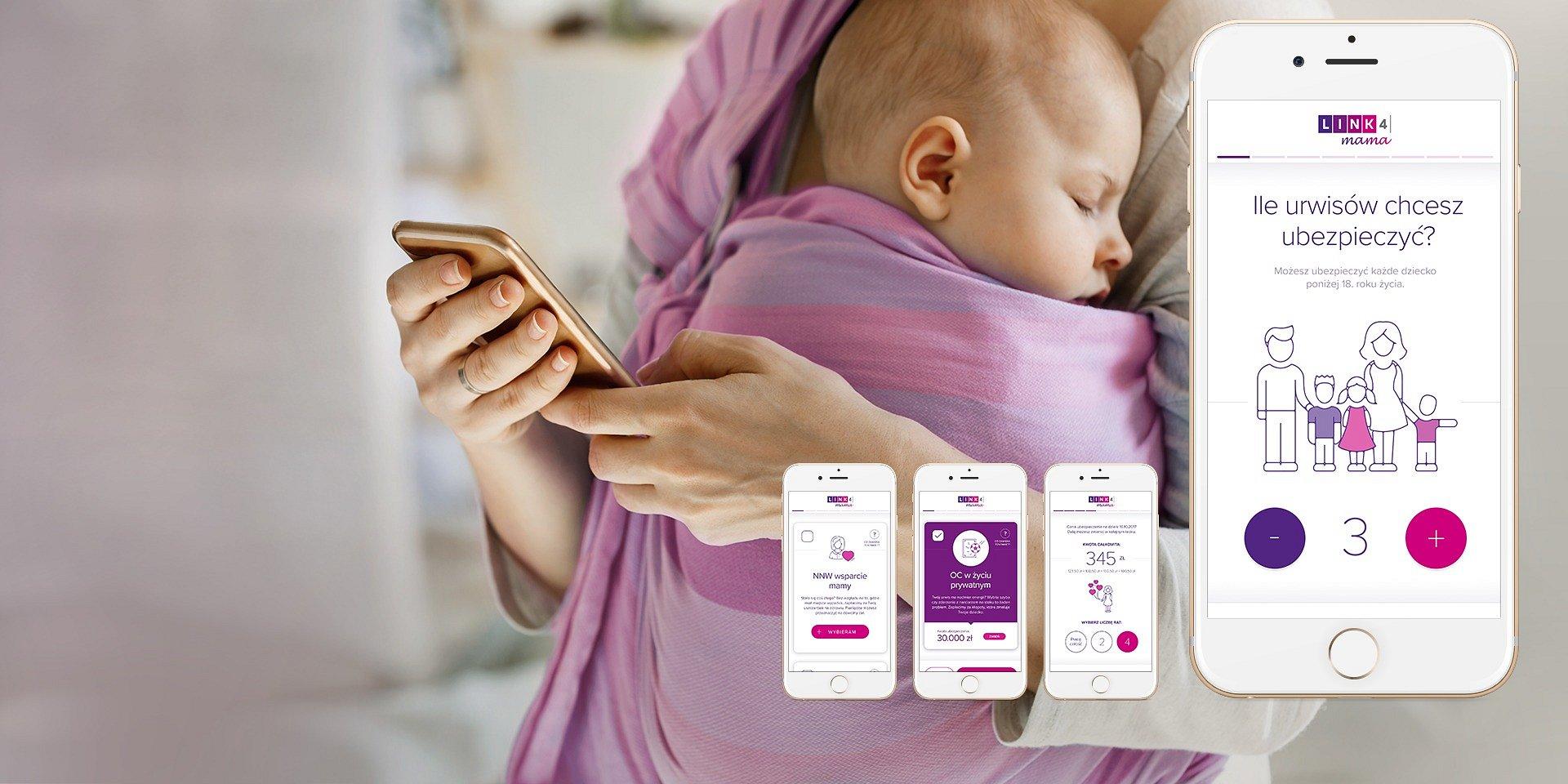 LINK4 Mama - dobrze zaprojektowane ubezpieczenie dla rodzin