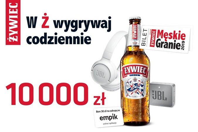 W Ż wygrywaj codziennie. Nowa loteria marki Żywiec