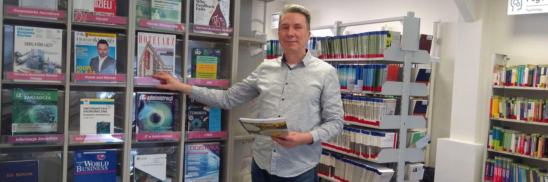Wielkopolski Bibliotekarz Roku 2018 pracuje w WSB w Poznaniu