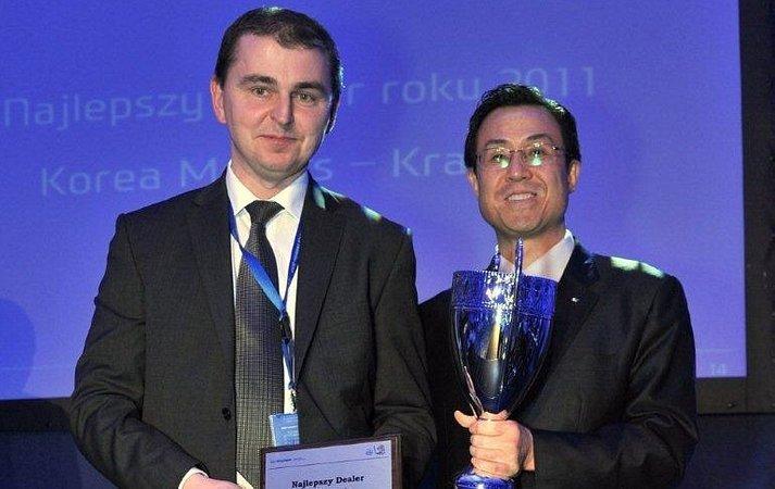 Korea Motors najlepszym salonem Hyundai'a w Polsce