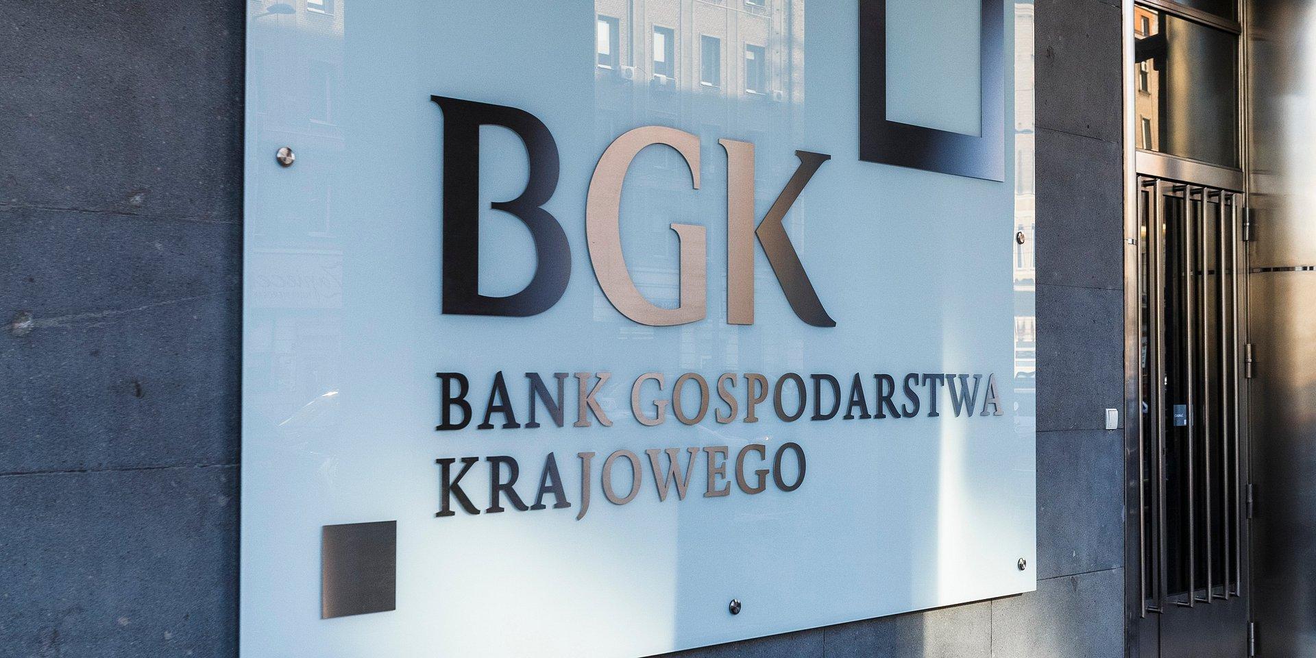 BGK w 2018 r. zasilił gospodarkę kredytami na prawie 34 mld zł