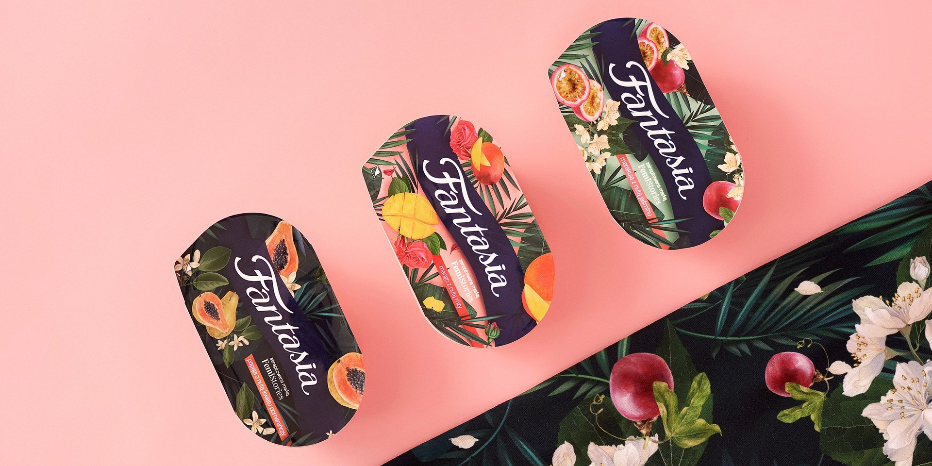 Fantasia rozkwita na wiosnę! Premiera smaków łączących owoce egzotyczne z nutami kwiatowymi