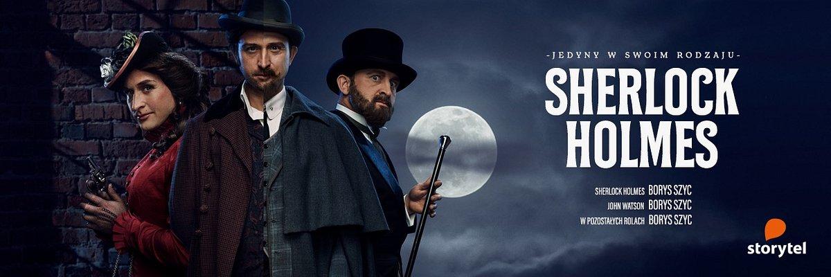 Borys Szyc jako Sherlock Holmes tylko w Storytel
