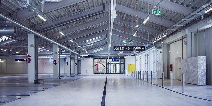 Nowy parking Focus Mall Zielona Góra to 360 miejsc postojowych i 60 –metrowy mural!
