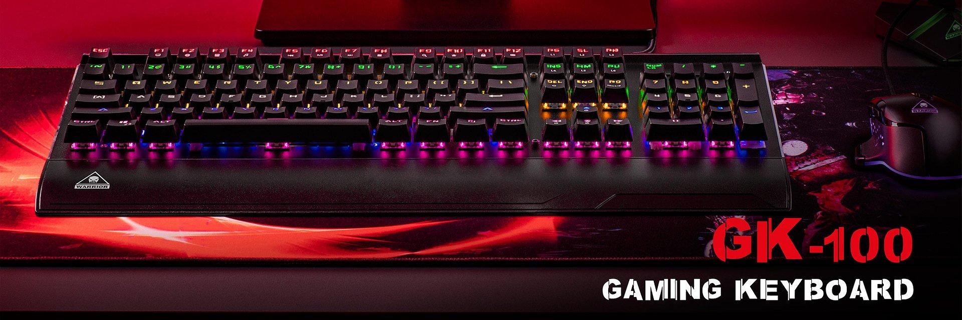 Klawiatura Kruger&Matz Warrior GK-100 dla fanów gamingu