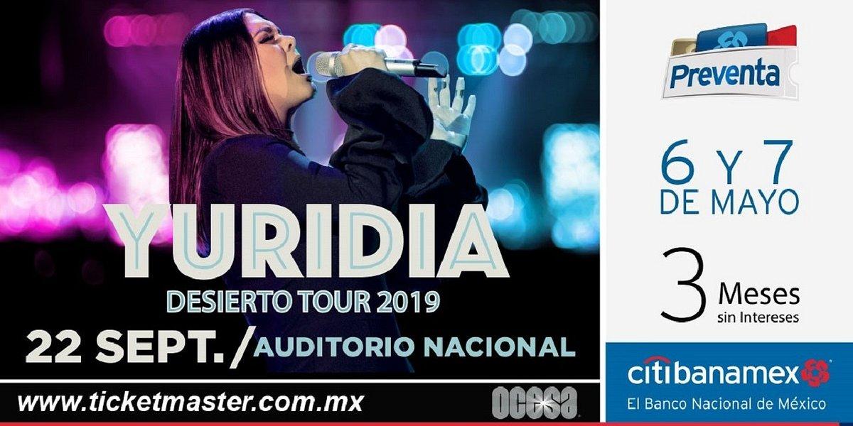 Yuridia conquistará de nueva cuenta el Auditorio Nacional