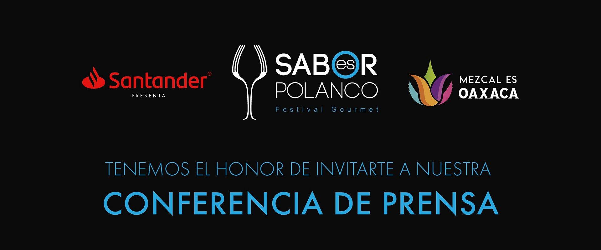 Invitación Conferencia de Prensa, Sabor es Polanco