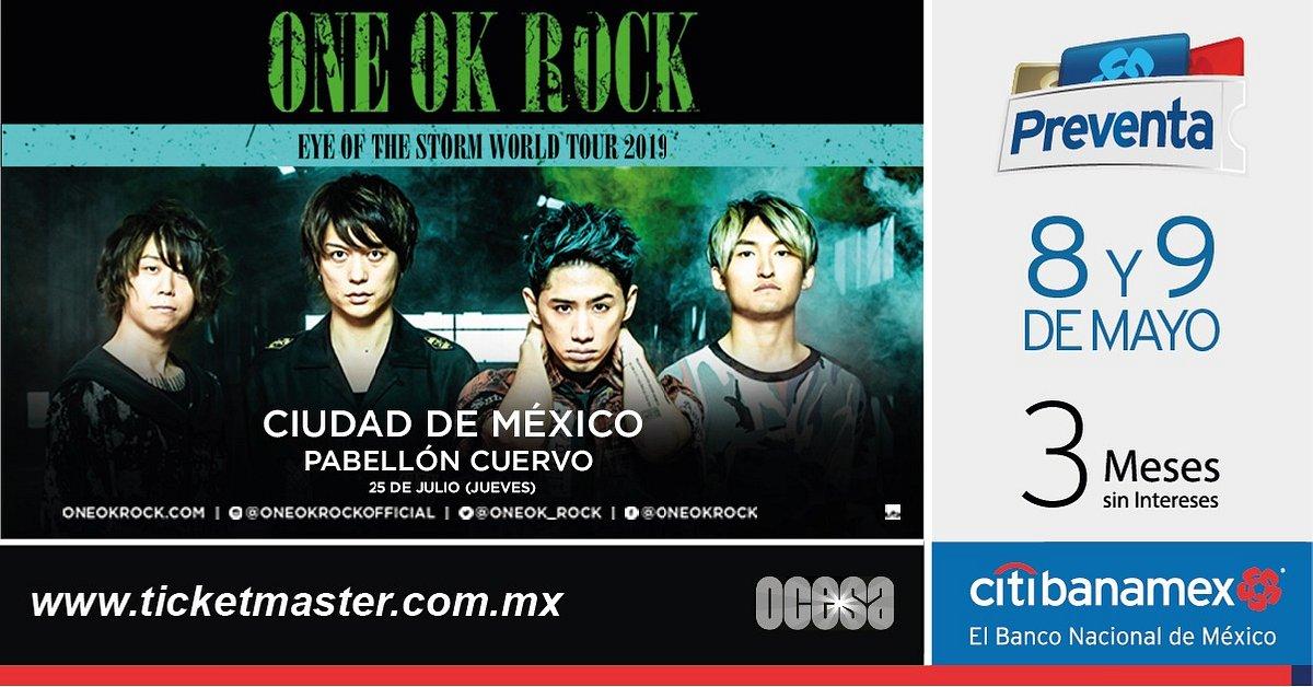 ONE OK ROCK ANUNCIAN CONCIERTO EN MÉXICO