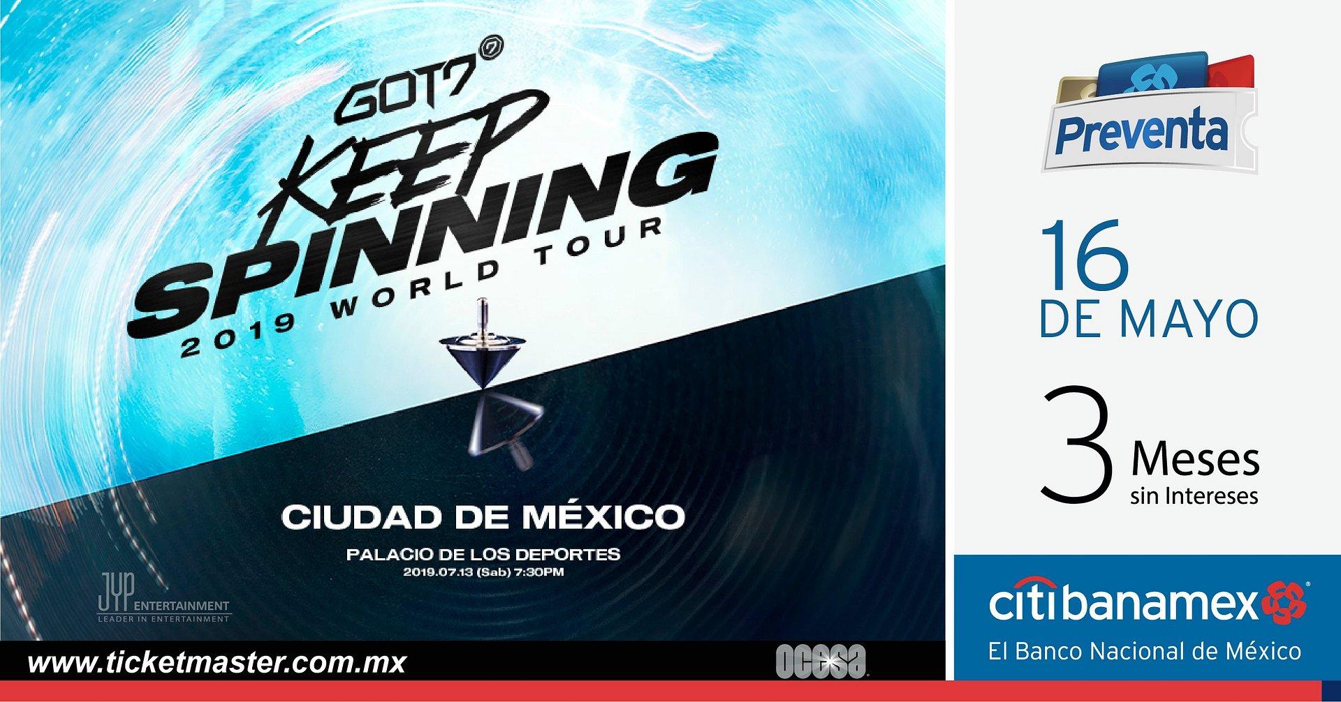 LAS ESTRELLAS DEL K-POP GOT7 ANUNCIAN CONCIERTO EN MÉXICO