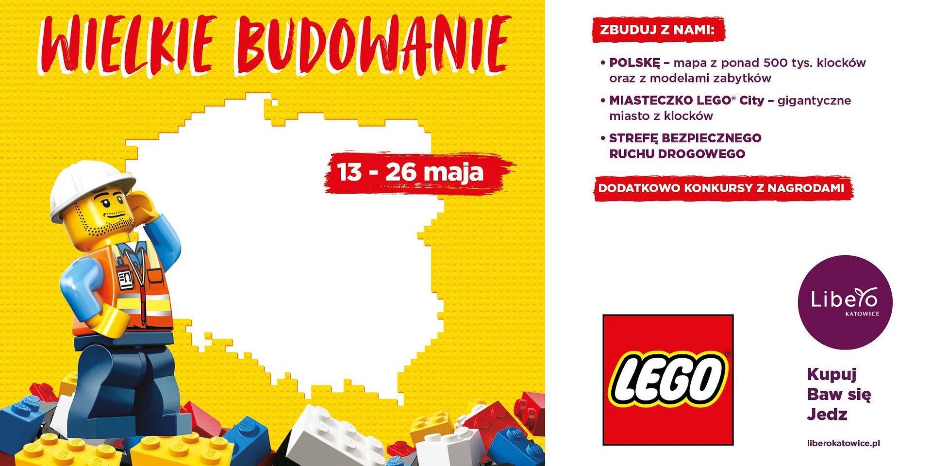 Gratka dla fanów LEGO® w Libero Katowice