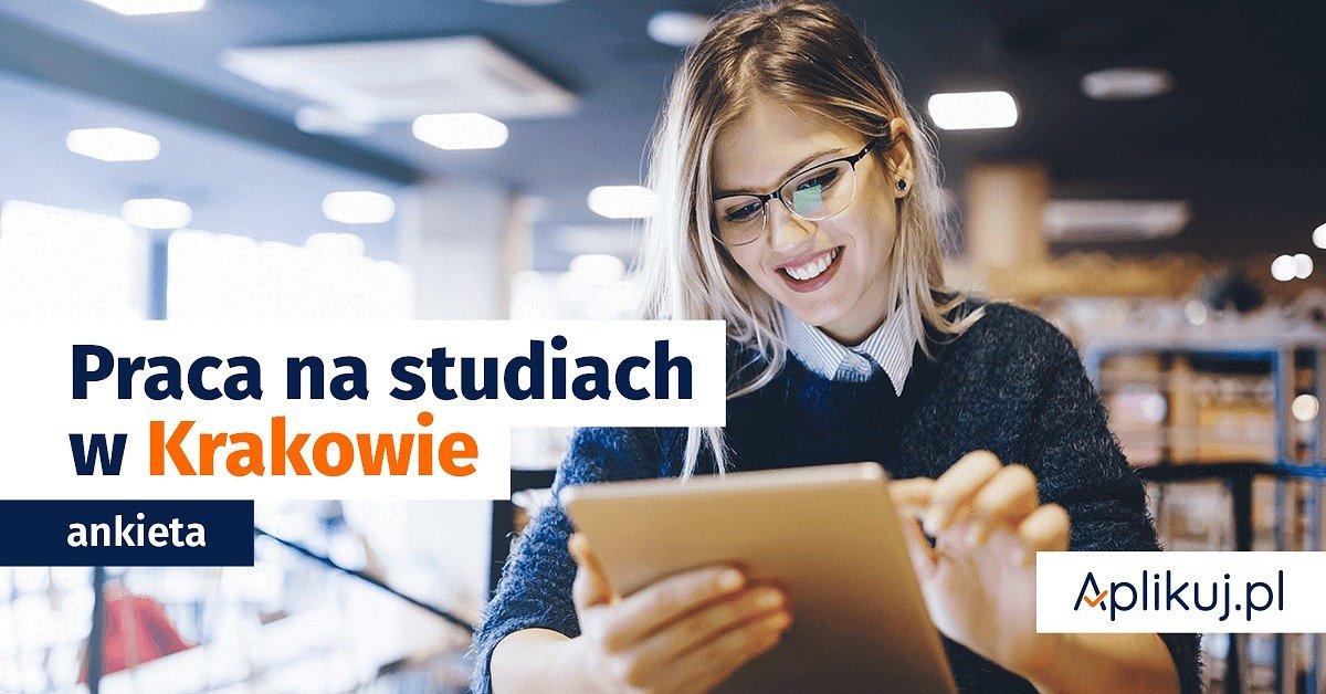 Patronat Holdingu 1 - konkurs i raport o pracy studentów w Krakowie!