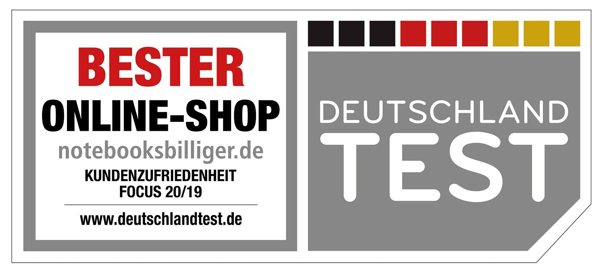 notebooksbilliger.de | Auszeichnung zum Besten Online Shop 2019