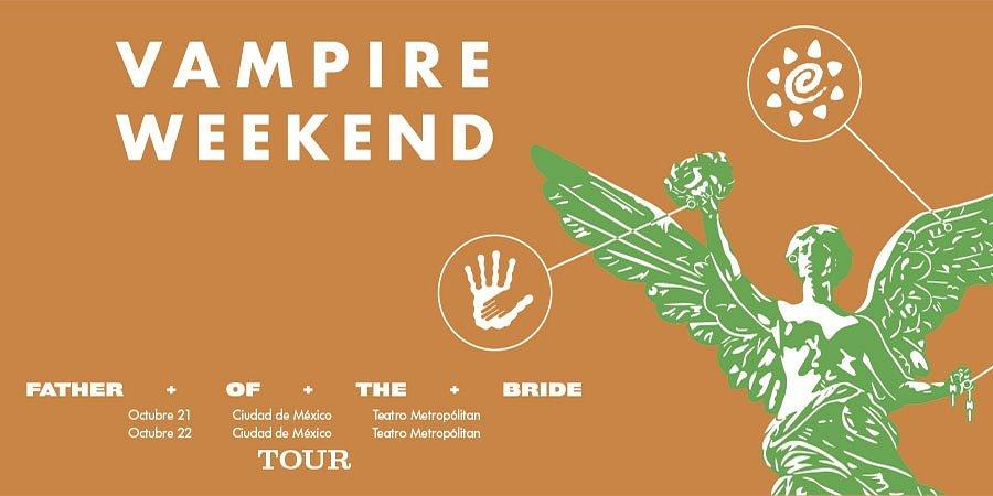 Vampire Weekend regresa a México!