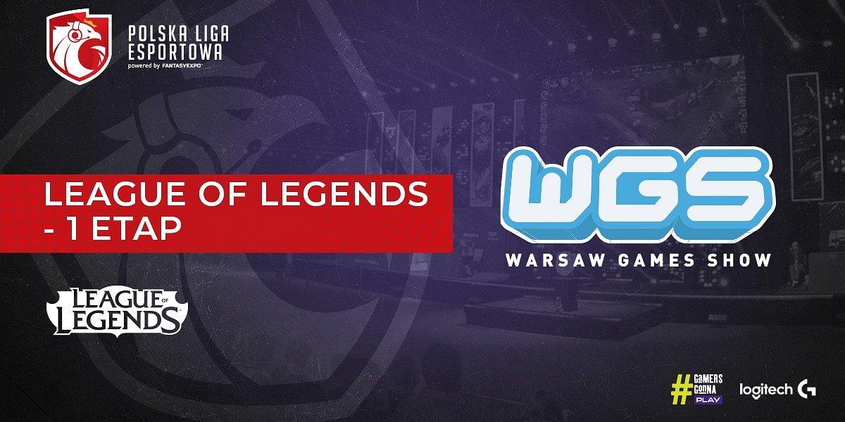 Pierwszy etap rozgrywek League of Legends Polskiej Ligi Esportowej rusza już pod koniec maja. Przyjdź na Warsaw Games Show i zobacz rozgrywki na żywo!