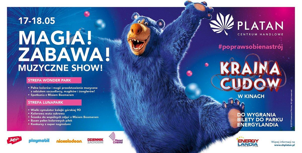 Centrum handlowe Platan zabierze dzieci do Krainy cudów!