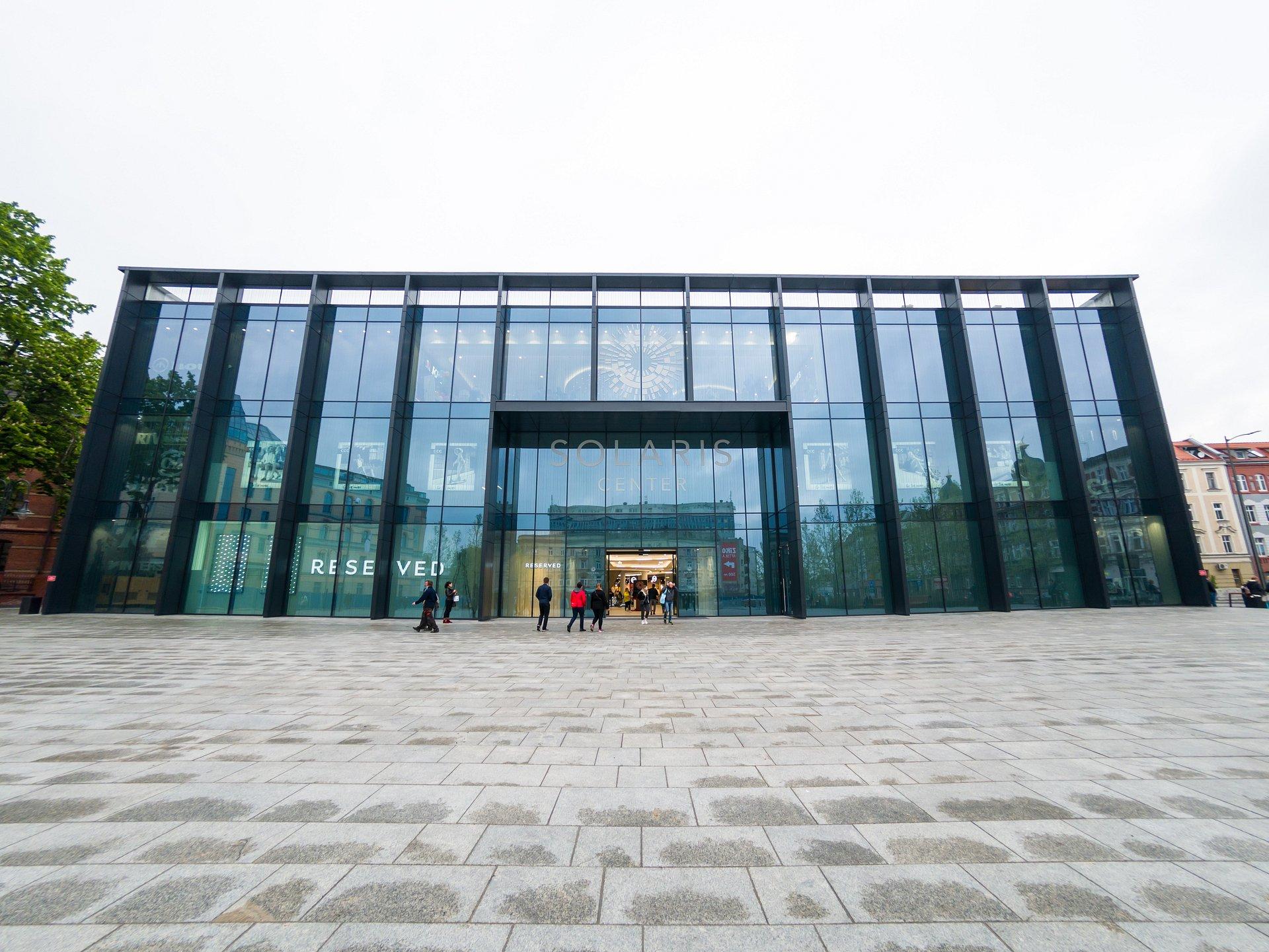 Nowe wnętrze i nowe marki opolskiej galerii Solaris Center