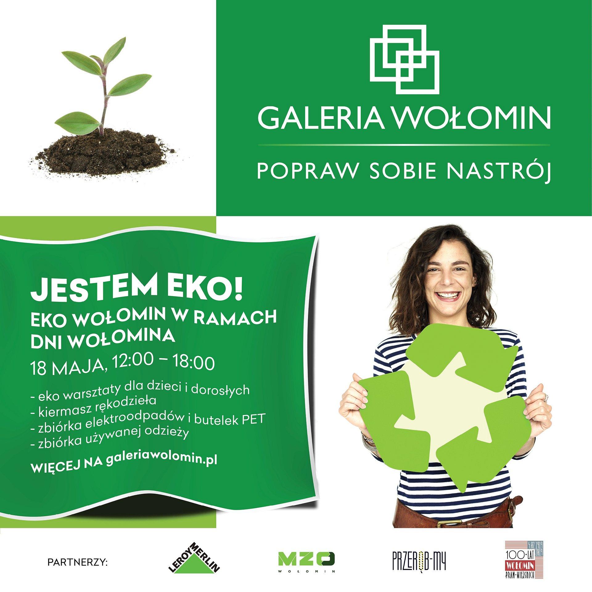 Galeria Wołomin stawia na ekologię!