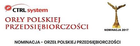 Nominacja do nagrody Orzeł Polskiej Przedsiębiorczości oraz tytułu Firma Roku 2017