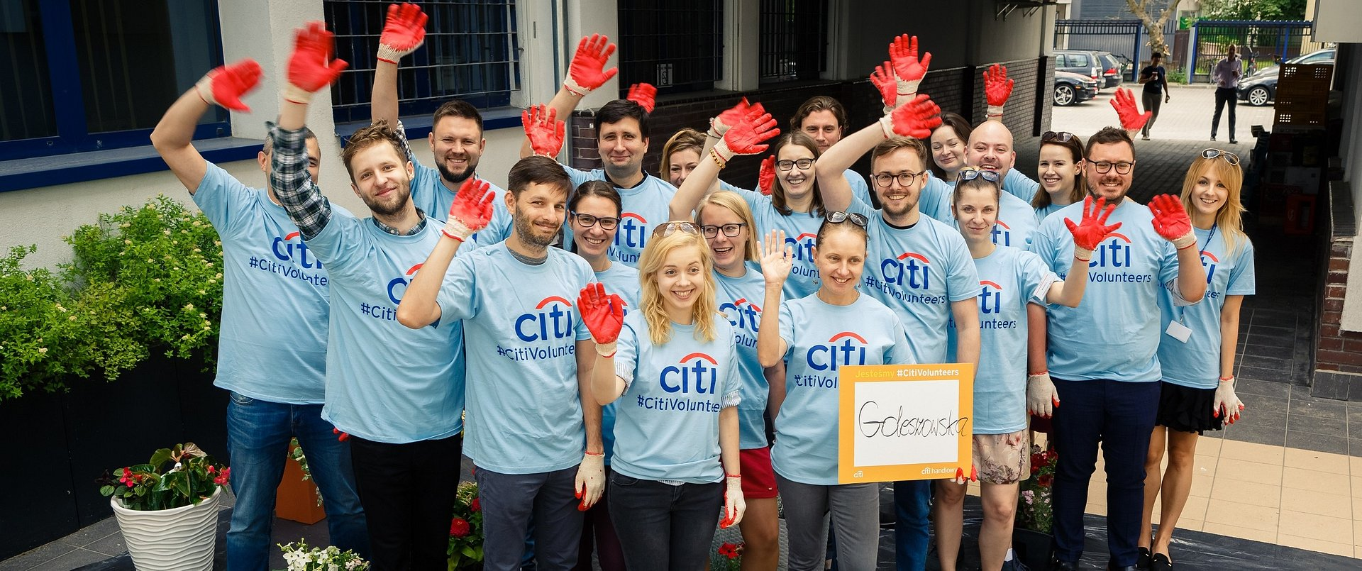 #CitiVolunteers do akcji!