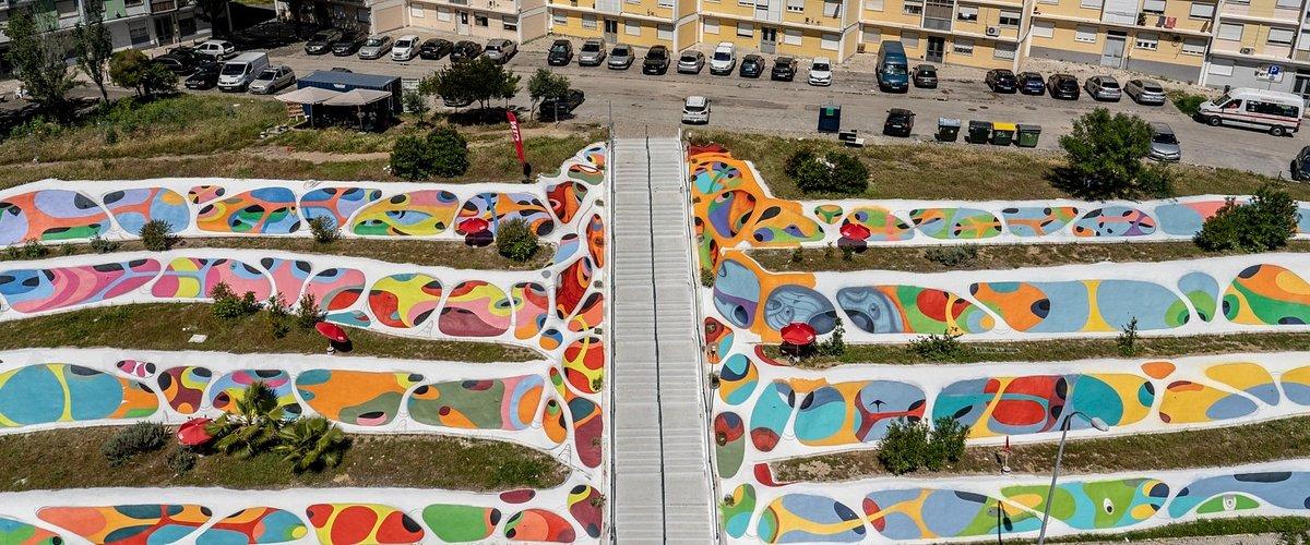 CIN leva a cor à Alta de Lisboa pela mão do street artist RAF