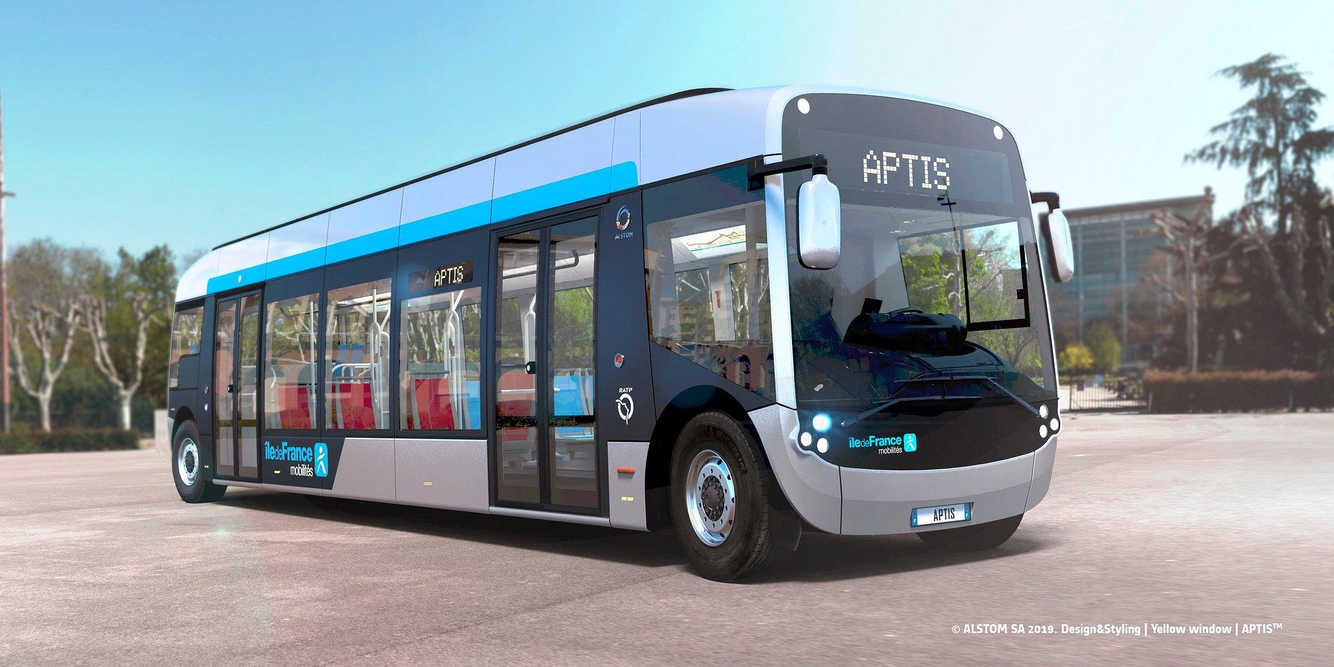 Autobus Aptis Alstomu wybrany w największym europejskim przetargu na autobusy elektryczne