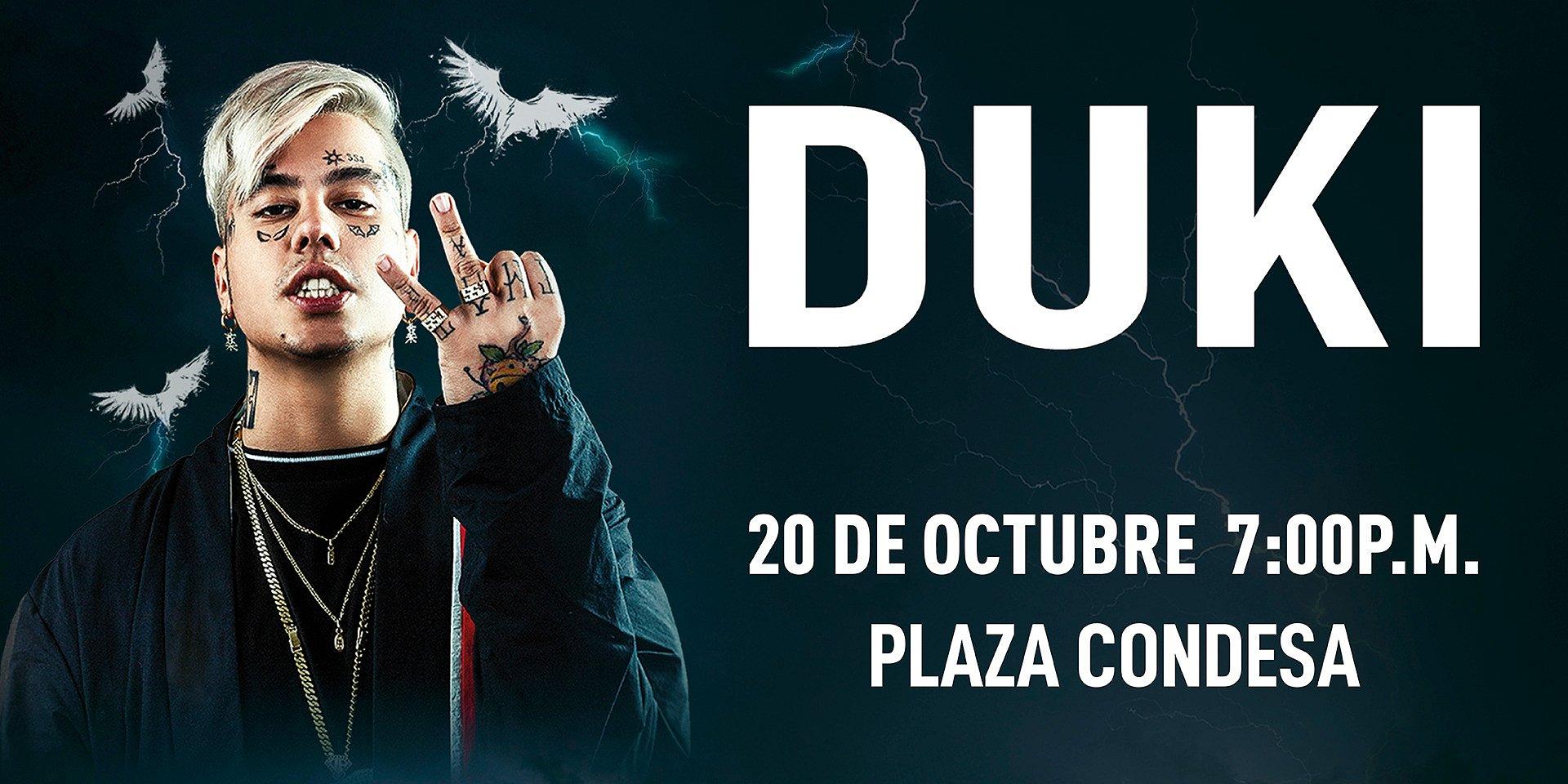 Duki en México