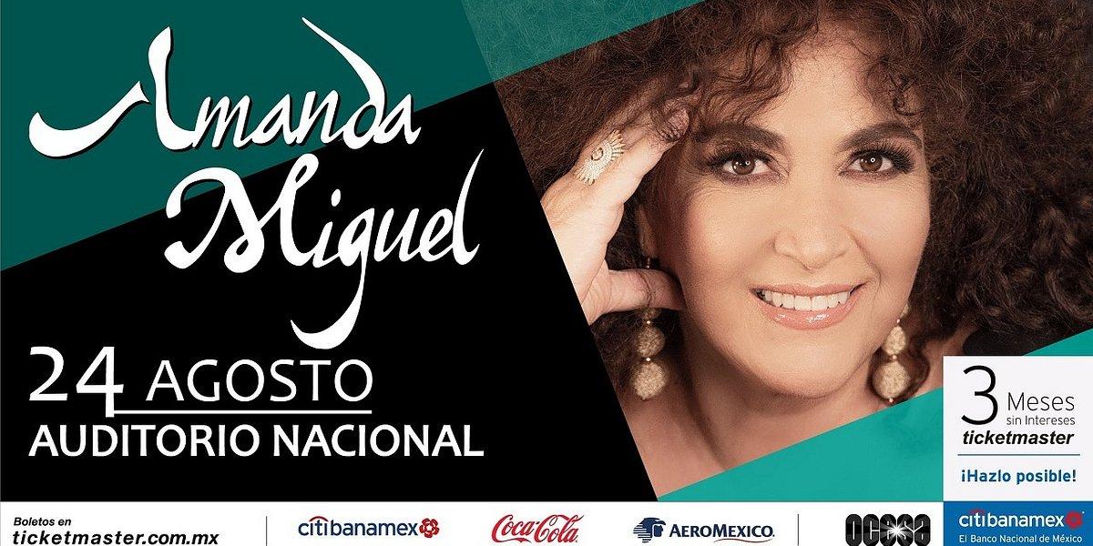 Comunicado oficial: Amanda Miguel