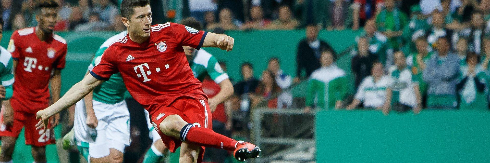 Finał Pucharu Niemiec w sobotę na żywo tylko w Eurosporcie 1!