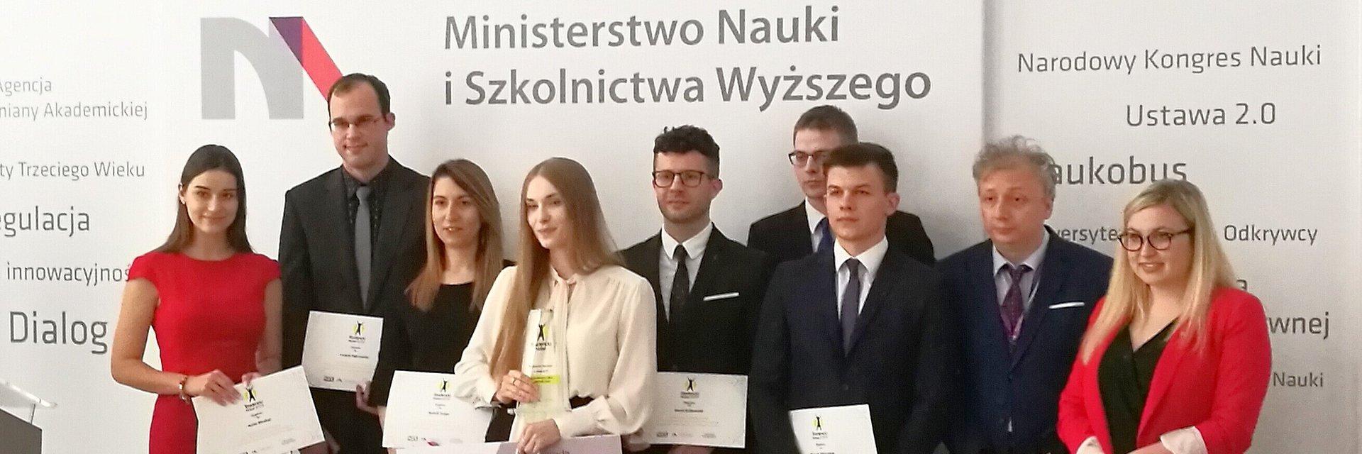 Student WSB Poznań finalistą Studenckiego Nobla