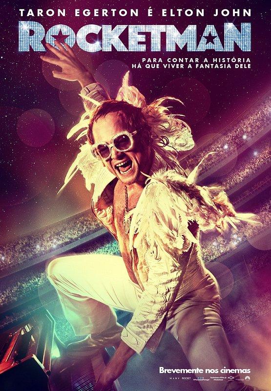 'Rocketman' chega aos cinemas com uma interpretação brilhante e os maiores êxitos de Elton John