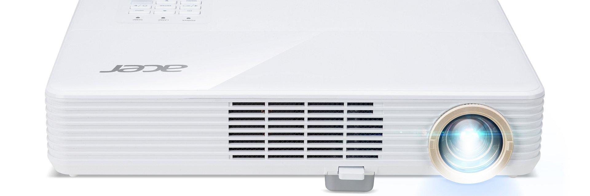 Ultrasmukłe projektory od Acer! Zmieszczą się w aktówce i plecaku biznesowym