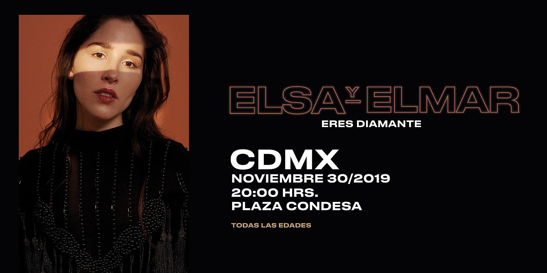 """Elsa y Elmar llegará a El Plaza Condesa con su nuevo disco """"Eres diamante"""""""