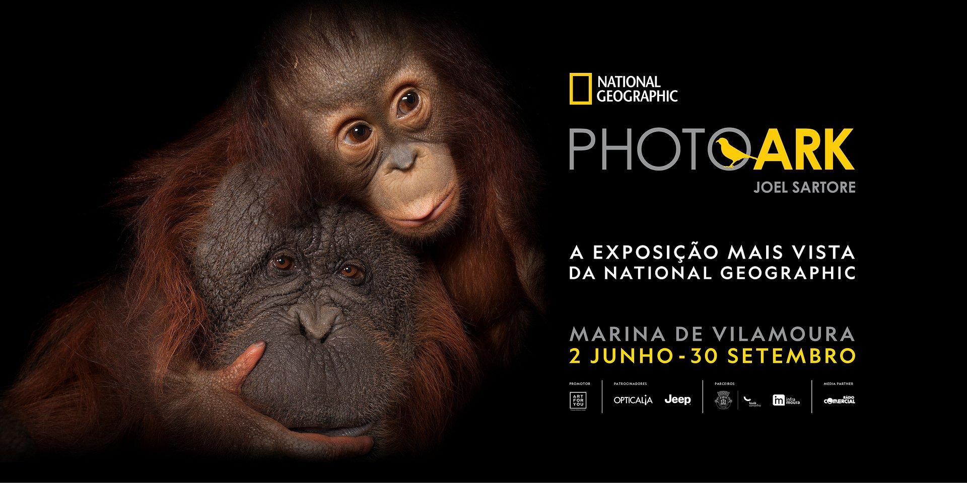 'PHOTO ARK', A EXPOSIÇÃO MAIS VISTA DA NATIONAL GEOGRAPHIC CHEGA A VILAMOURA
