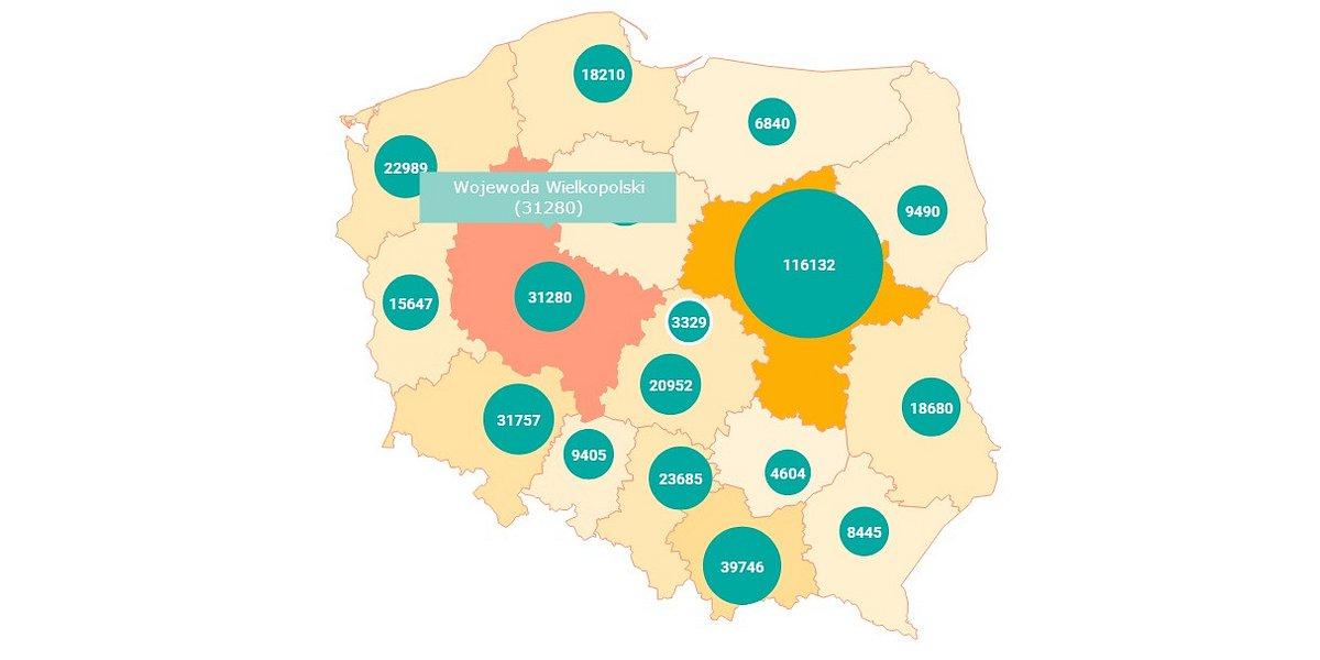 Wielkopolskie: ponad 30 tys. cudzoziemców z ważnymi zezwoleniami na pobyt