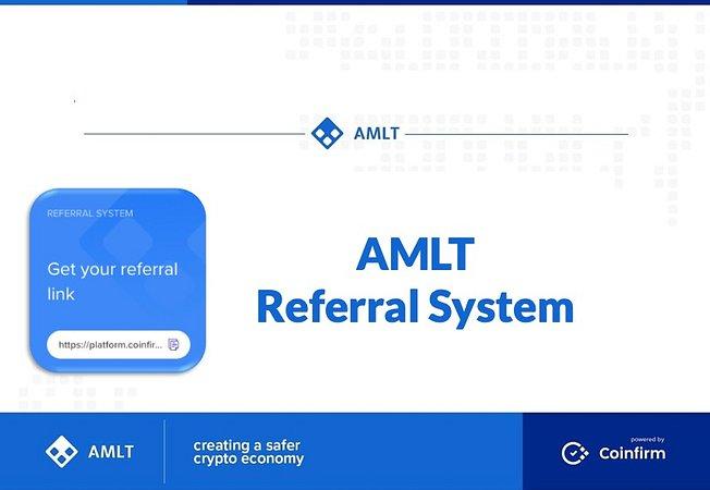 Referral system launched by Blockchain data crowdsourcing platform AMLT Token Network