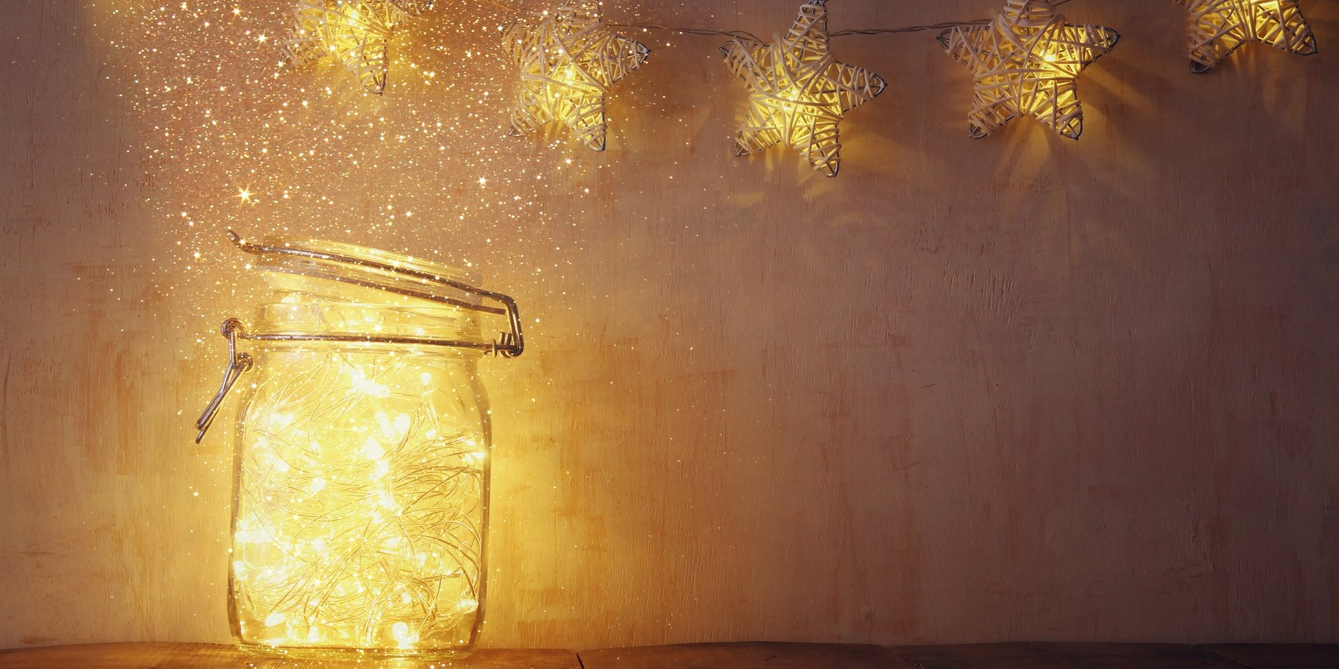 Sprytne DIY - lampiony z lampek choinkowych
