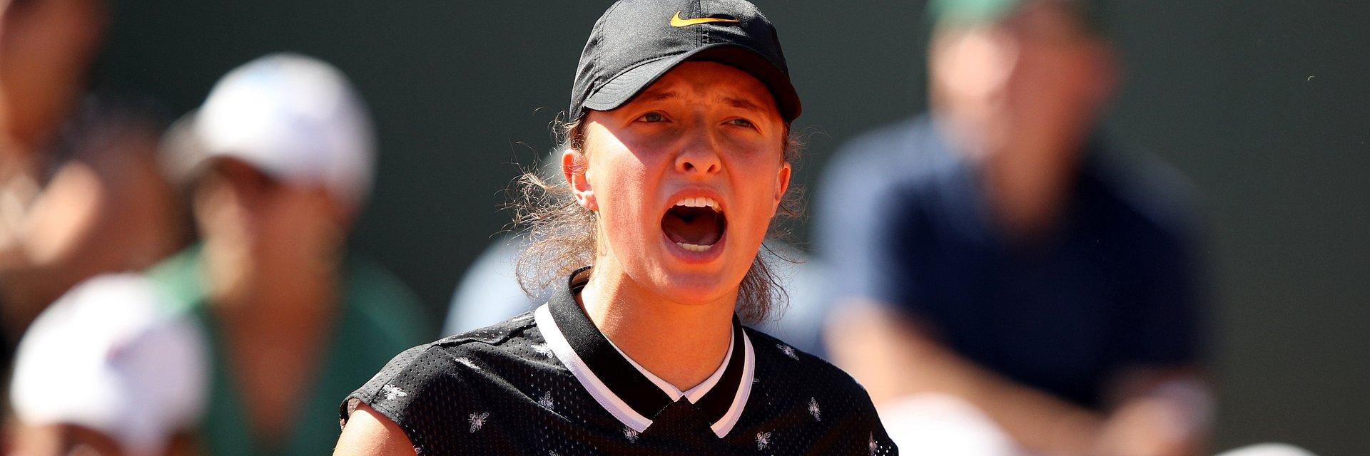 Mecz Igi Świątek o ćwierćfinał Roland-Garros na żywo tylko w Eurosporcie 1
