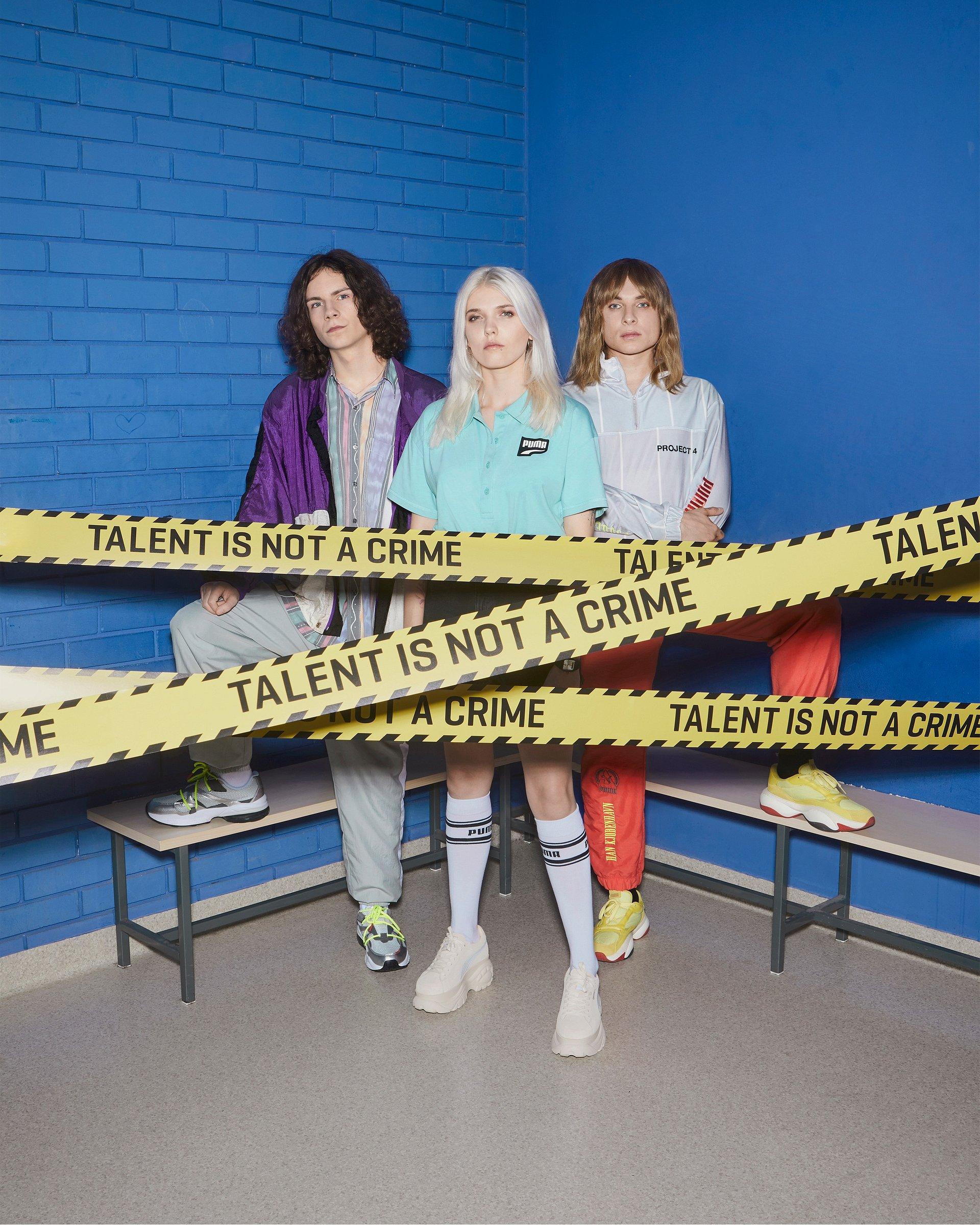 TALENT IS NOT A CRIME. Daria Zawiałow, Ralph Kaminski i Schafter w nowej odsłonie PUMA Talents