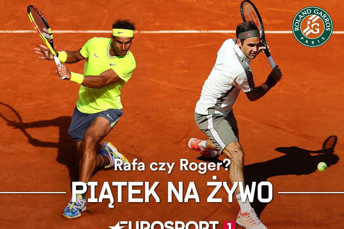 Roland-Garros: półfinały marzeń w piątek tylko w Eurosporcie!