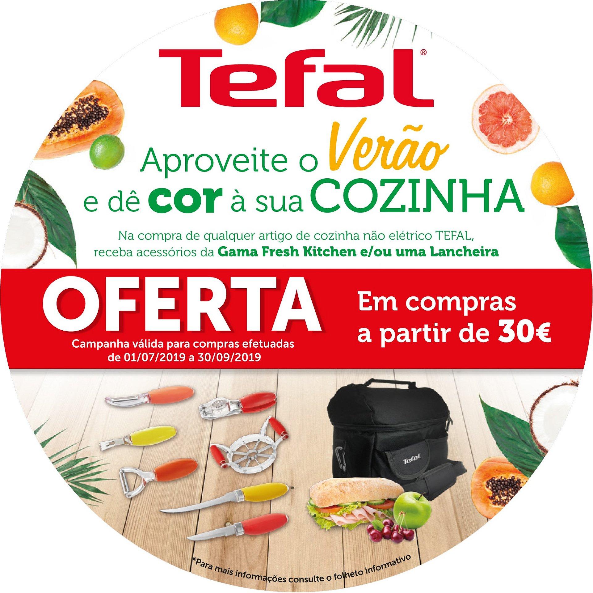 Dê cor à sua cozinha com a campanha de verão da Tefal