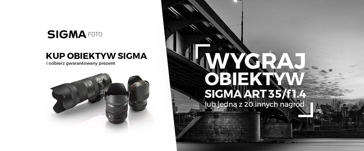Premiera nowej strony SIGMA FOTO POLSKA