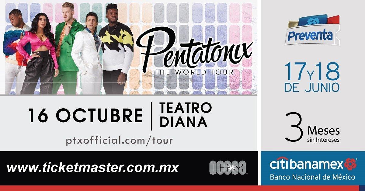 PENTATONIX ANUNCIA CONCIERTO EN MÉXICO