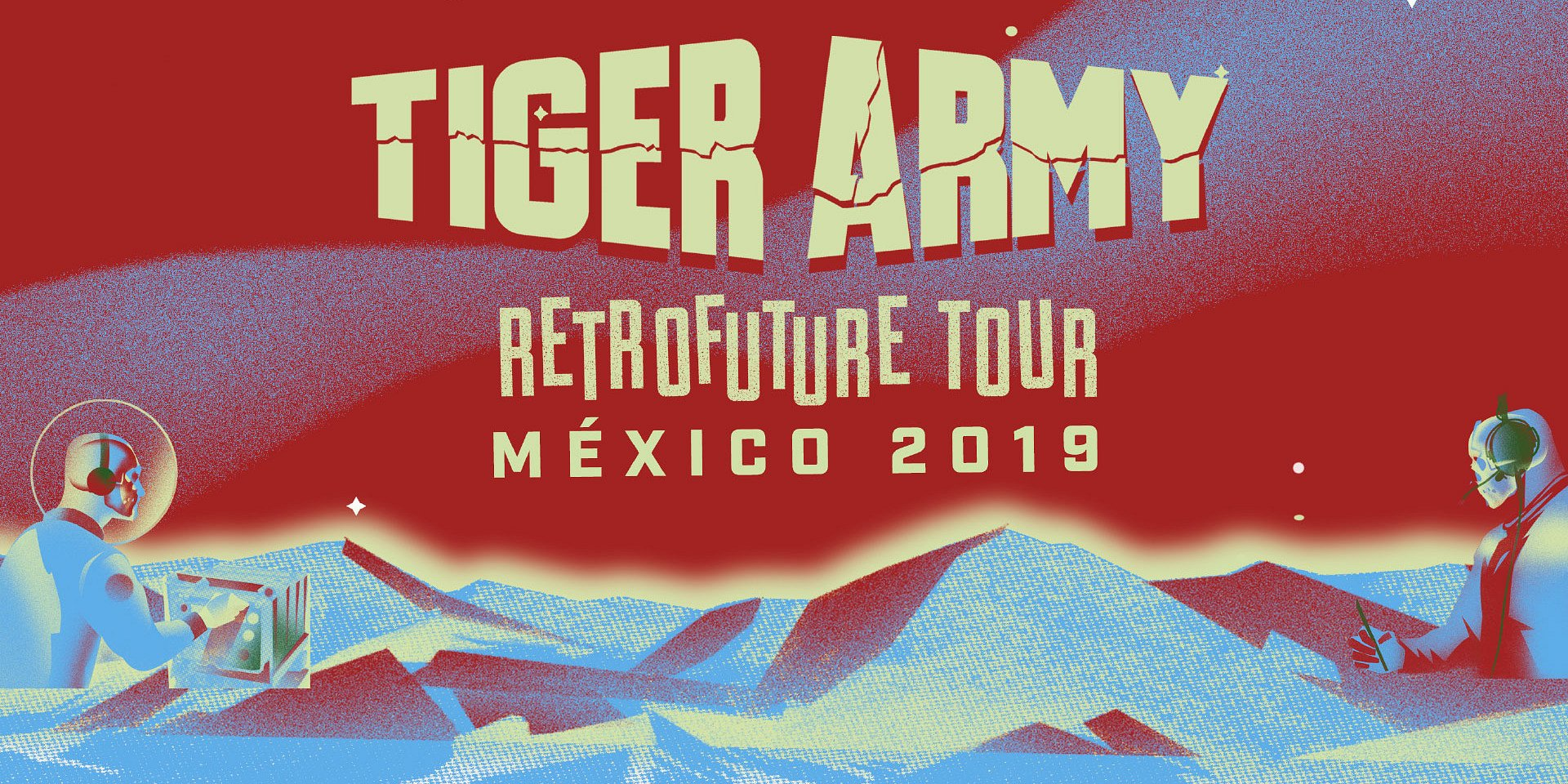 """Tiger Army regresa a El Plaza Condesa con """"Retrofuture Tour México 2019"""""""