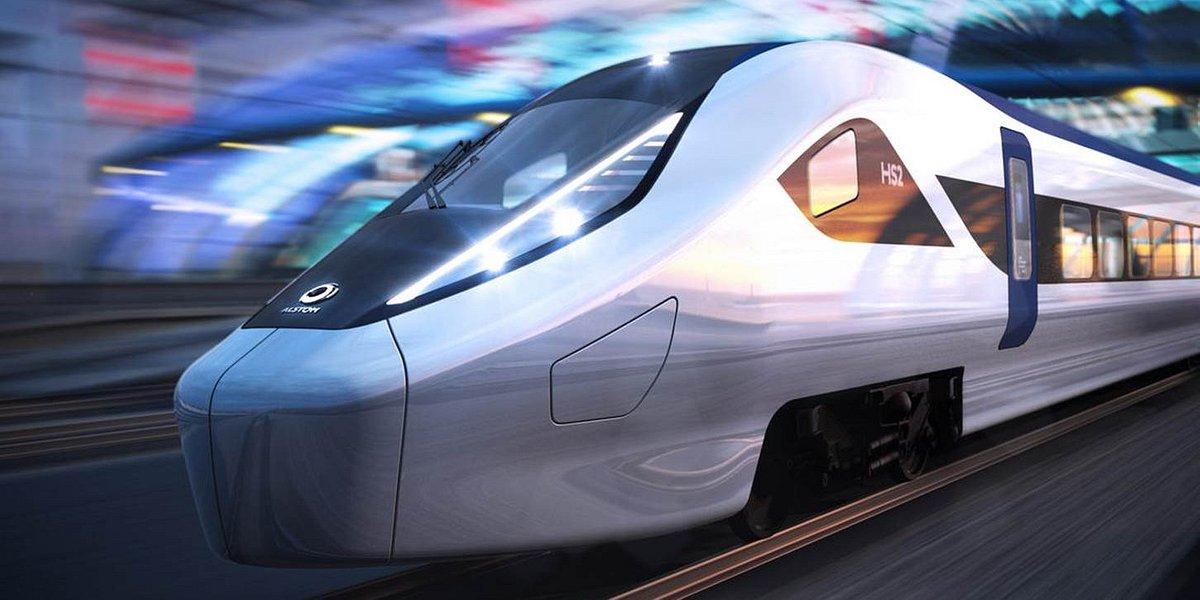 Alstom przedstawił projekt szybkich pociągów dla Wielkiej Brytanii