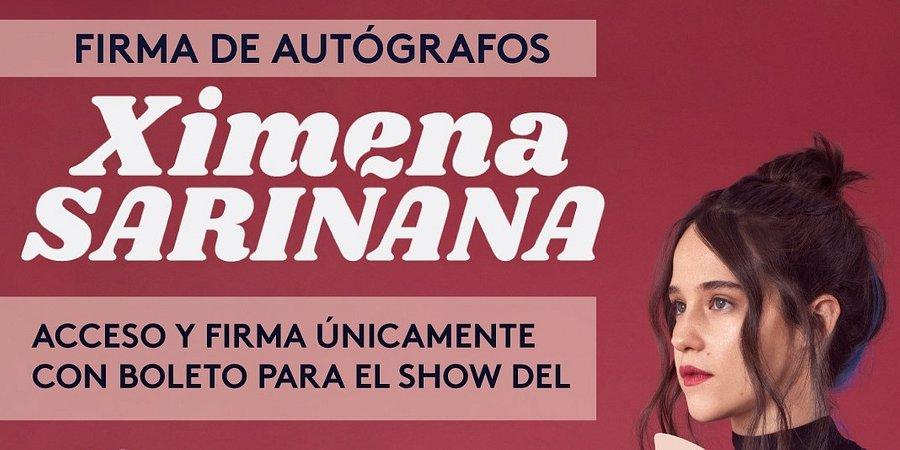 INVITACIÓN FIRMA DE AUTÓGRAFOS CON XIMENA SARIÑANA