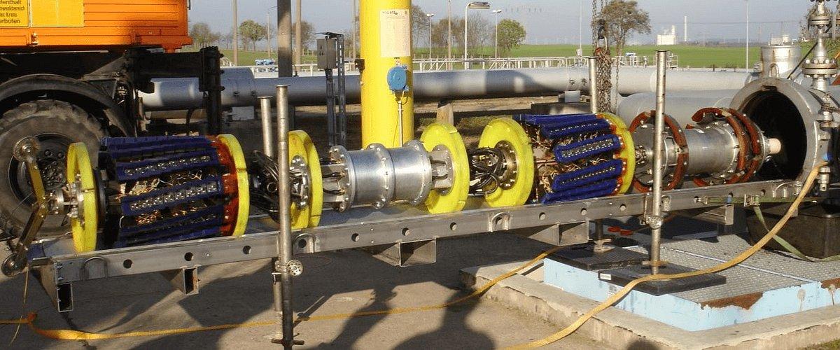 Naftoserwis zbudował tłok inteligentny do wykrywania pęknięć rurociągów